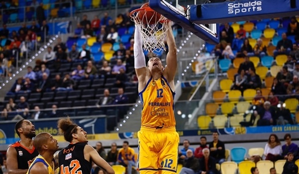 Regular Season, Round 8: Eriksson's late heroics lift Gran Canaria past Ulm