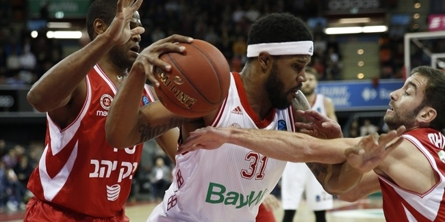 7DAYS EuroCup, Regular season, Round 8: FC Bayern Munich vs. Hapoel Bank Yahav Jerusalem