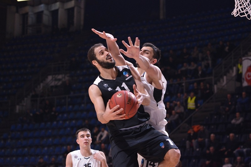 Shane Hammink - RETAbet Bilbao Basket (photo Partizan) - EC17