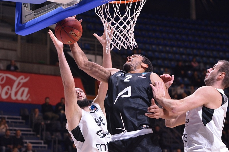 Devin Thomas - RETAbet Bilbao Basket (photo Partizan) - EC17