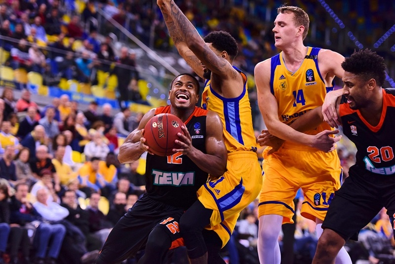 Trey Lewis - ratiopharm Ulm (photo Gran Canaria) - EC17