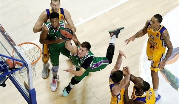 RS Round 12 report: Unicaja wins three-point fest versus Khimki