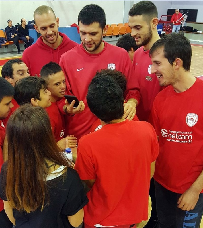 Olympiacos, One Team session