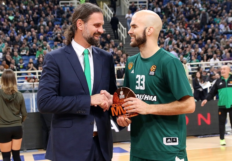 Nick Calathes, November MVP - Panathinaikos Superfoods Athens - EB17