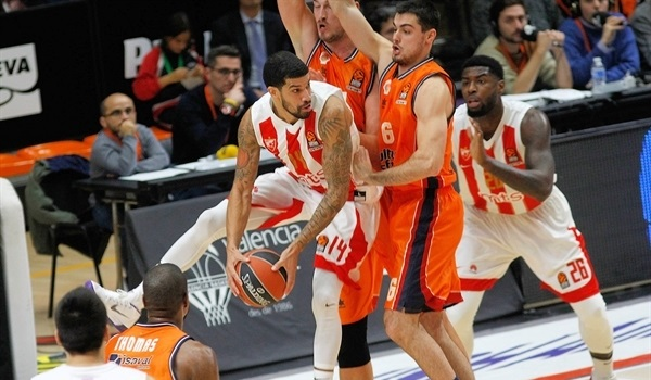 RS Round 12 report: Zvezda's late 0-17 run sinks host Valencia
