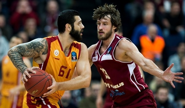 Regular Season, Round 9: Galatasaray follows Koksal to crucial win it Lietkabelis