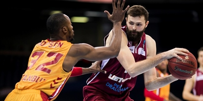 7DAYS EuroCup, Regular season, Round 9: Lietkabelis Panevezys vs. Galatasaray Odeabank Istanbul
