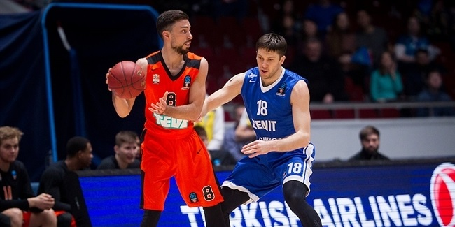 7DAYS EuroCup, Regular season, Round 9: Zenit St Petersburg vs. ratiopharm Ulm