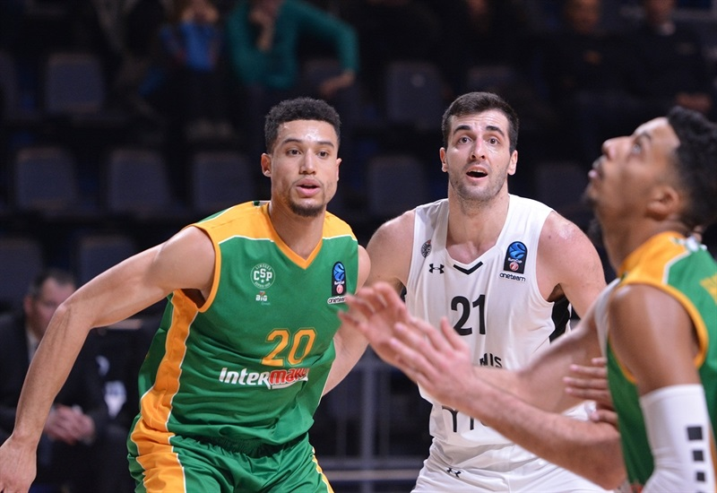 Jean-Frederic Morency - Limoges CSP (photo Partizan) - EC17
