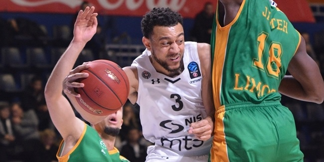 7DAYS EuroCup, Regular season, Round 9: Partizan NIS Belgrade vs. Limoges CSP