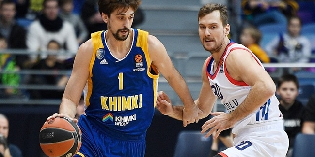 Round 13 co-MVPs: Jamel McLean, Olympiacos and Alexey Shved, Khimki