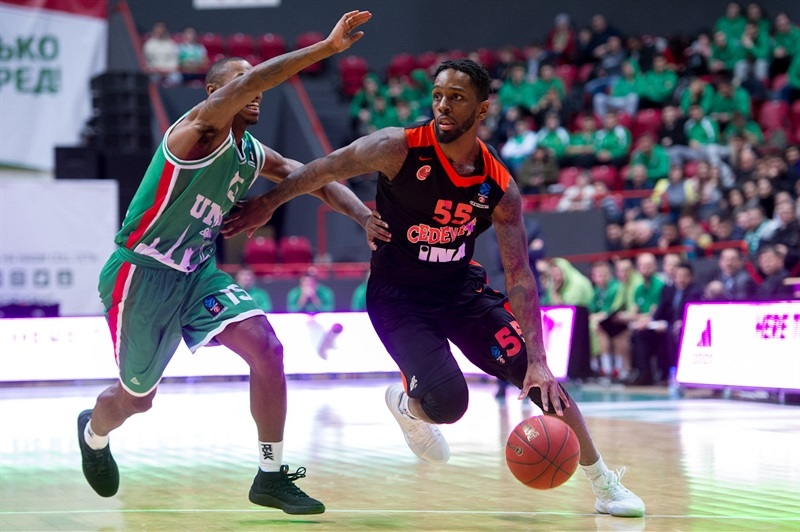 Kevin Murphy - Cedevita Zagreb (photo UNICS) - EC17