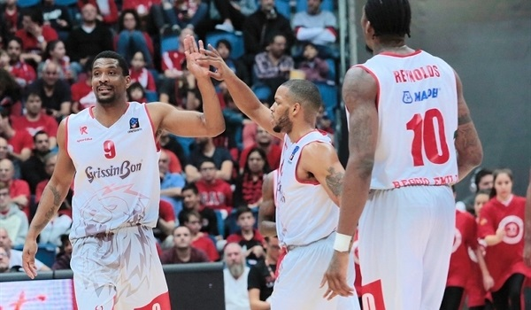 Regular Season, Round 9: Without top scorer, Reggio Emilia eliminates Jerusalem