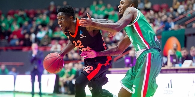 7DAYS EuroCup, Regular season, Round 9: Unics Kazan vs. Cedevita Zagreb