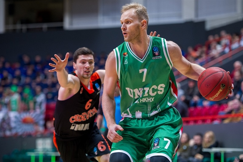 Anton Ponkrashov - UNICS Kazan (photo UNICS) - EC17