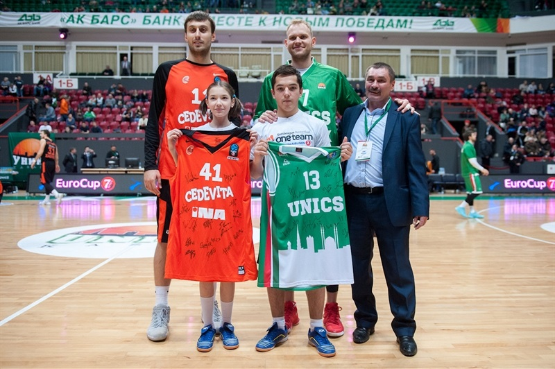 One Team in Kazan, Karlo Zganec and Anton Ponkrashov - UNICS Kazan (photo UNICS) - EC17
