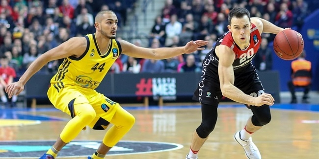 7DAYS EuroCup, Regular season, Round 9: Lietuvos Rytas vs. ALBA Berlin