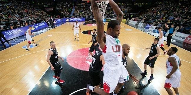 7DAYS EuroCup, Regular season, Round 9: RETAbet Bilbao Basket vs. Lokomotiv Kuban Krasnodar