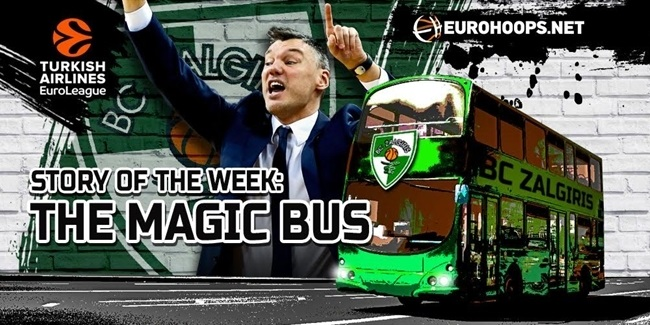 The story of the week: Jasikevicius's magic bus!