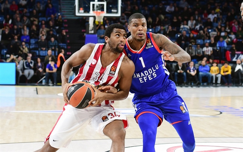 Hollis Thompson- Olympiacos Piraeus - EB17
