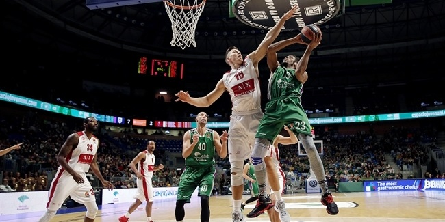 RS Round 14: Unicaja Malaga vs. AX Armani Exchange Olimpia Milan