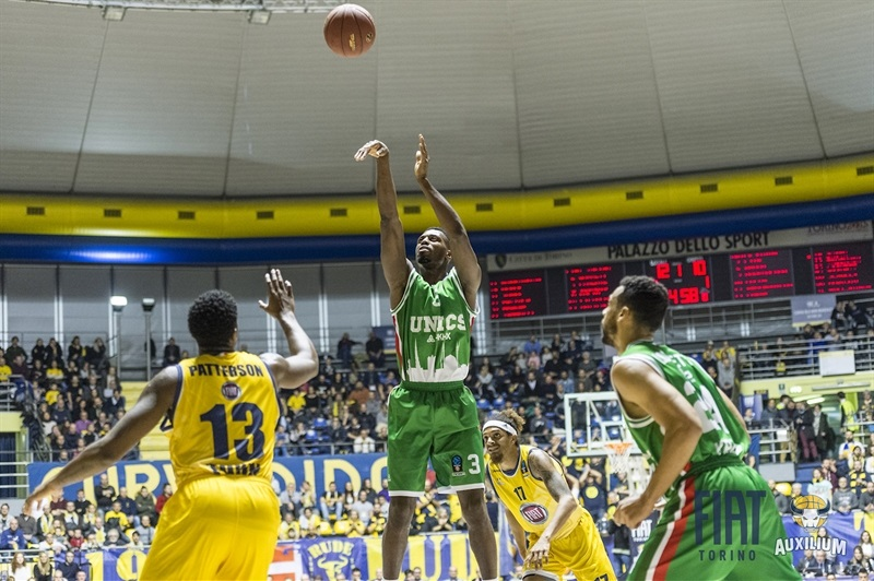 Melvin Ejim - UNICS Kazan (photo Fiat Turin) - EC17
