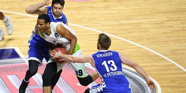 7DAYS EuroCup, Regular season, Round 10: Tofas Bursa vs. Zenit St Petersburg