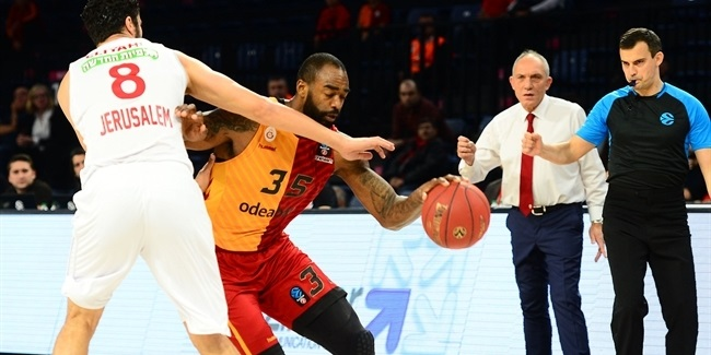 7DAYS EuroCup, Regular season, Round 10: Galatasaray Odeabank Istanbul vs. Hapoel Bank Yahav Jerusalem