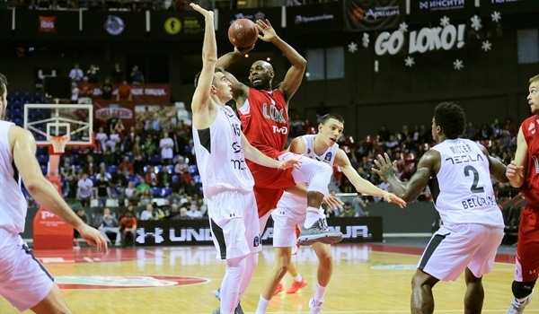 Regular Season, Round 10: Lokomotiv routs Partizan, finishes regular season 10-0