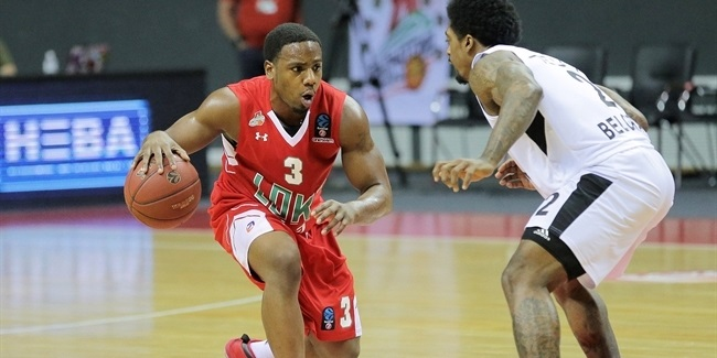 7DAYS EuroCup, Regular season, Round 10: Lokomotiv Kuban Krasnodar vs. Partizan NIS Belgrade