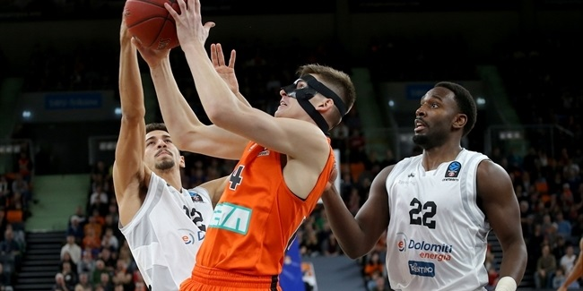 7DAYS EuroCup, Regular season, Round 10: ratiopharm Ulm vs. Dolomiti Energia Trento