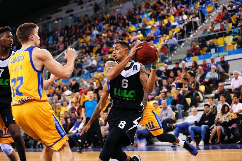 AJ Slaughter - ASVEL Villeurbanne (photo Gran Canaria) - EC17