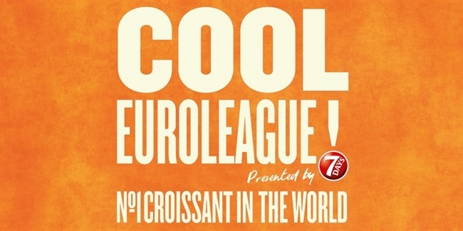 Coming soon: COOL EUROLEAGUE, presented by 7DAYS, with Kostas Papanikolaou and Ioannis Papapetrou