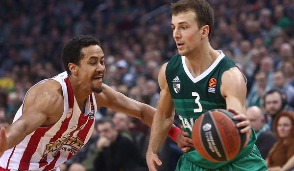 RS Round 15 report: Pangos leads Zalgiris past Olympiacos for fifth straight win