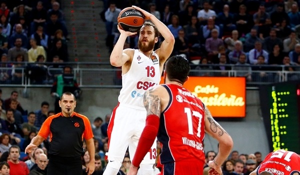 RS Round 15 report: Rodriguez sparkles, CSKA outlasts Baskonia in thriller