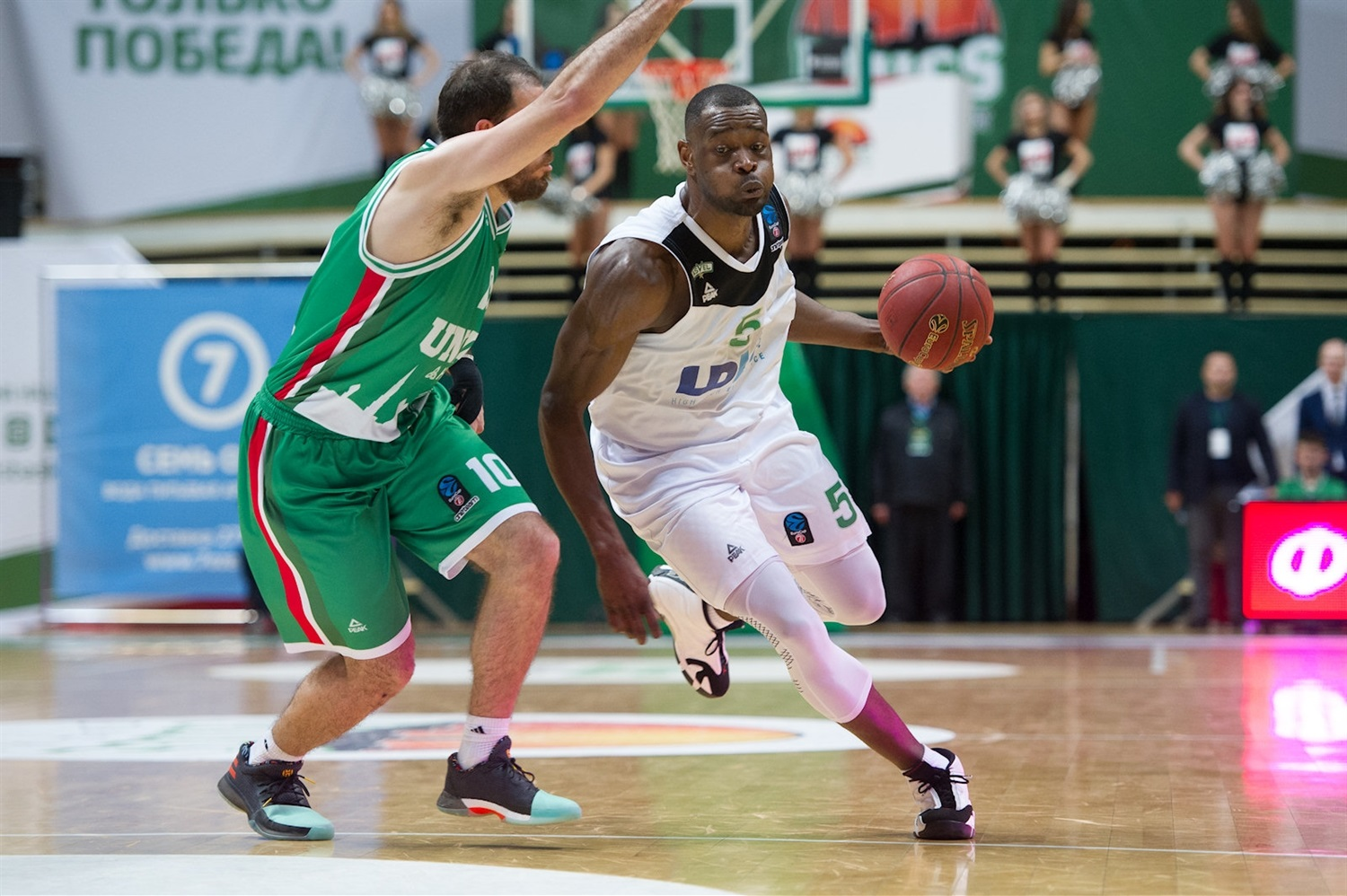 Charles Kahudi - ASVEL Villeurbanne (photo UNICS) - EC17