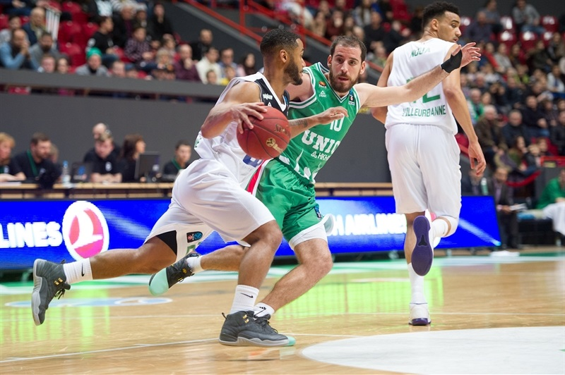 John Roberson - ASVEL Villeurbanne (photo UNICS) - EC17