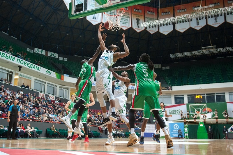 Justin Harper - ASVEL Villeurbanne (photo UNICS) - EC17