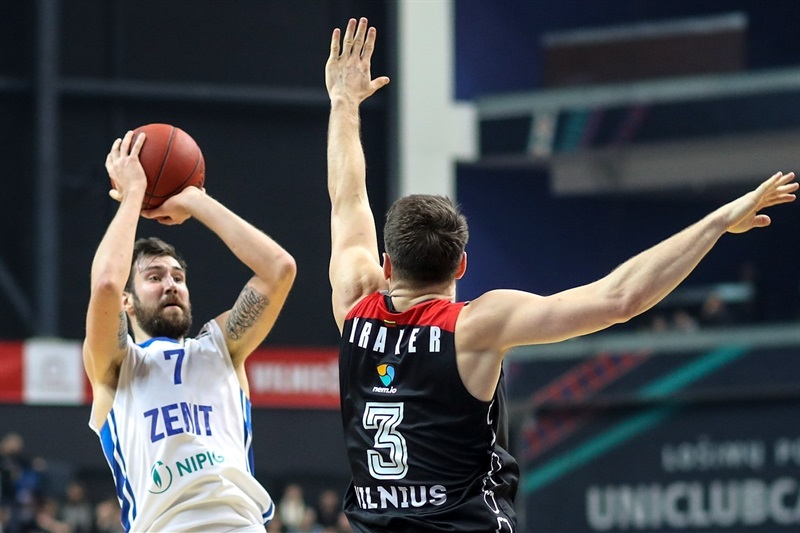 Sergey Karasev - Zenit St Petersburg (photo Rytas) - EC17