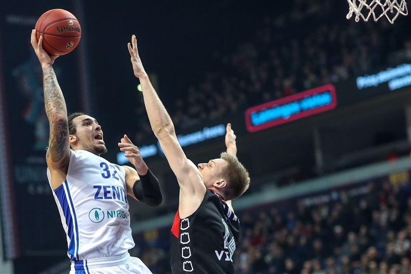 Drew Gordon - Zenit St Petersburg (photo Rytas) - EC17