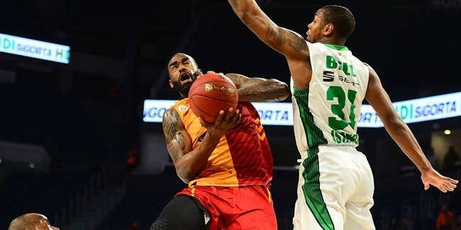7DAYS EuroCup, Top 16, Round 1: Galatasaray Odeabank Istanbul vs. Darussafaka Istanbul