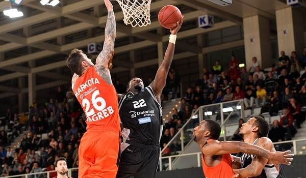 Top 16, Round 1: Hogue, Trento rally from 18 down to beat Cedevita