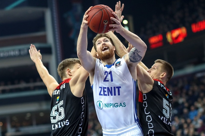 Shayne Whittington - Zenit St Petersburg (photo Rytas) - EC17