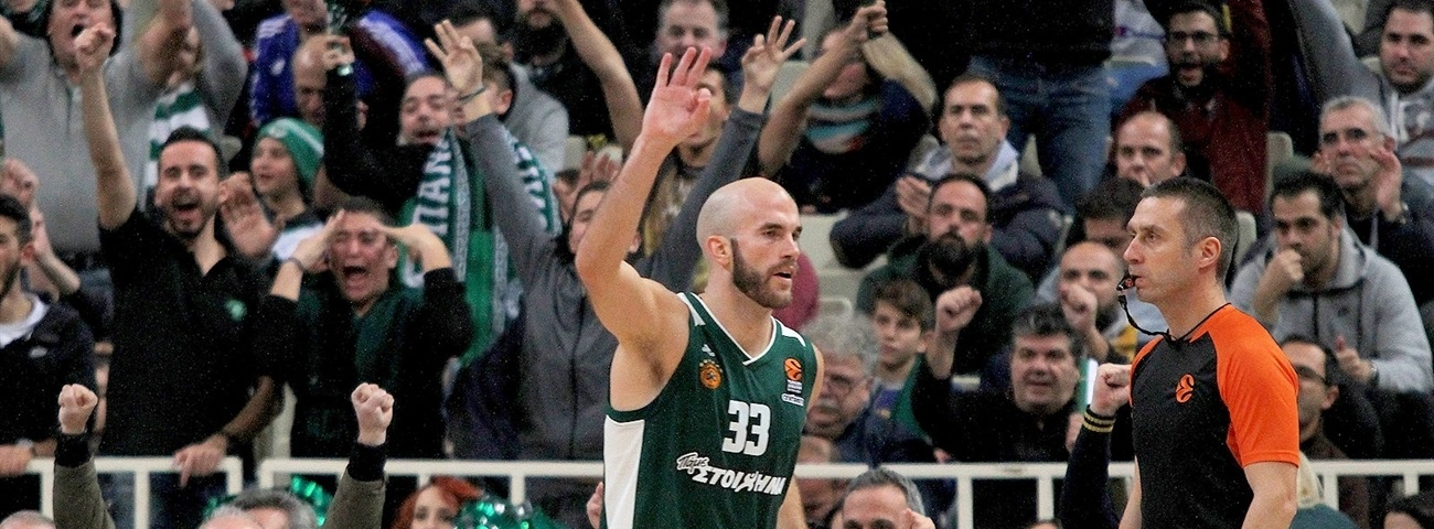 Panathinaikos, All-EuroLeague guard Calathes together through 2021