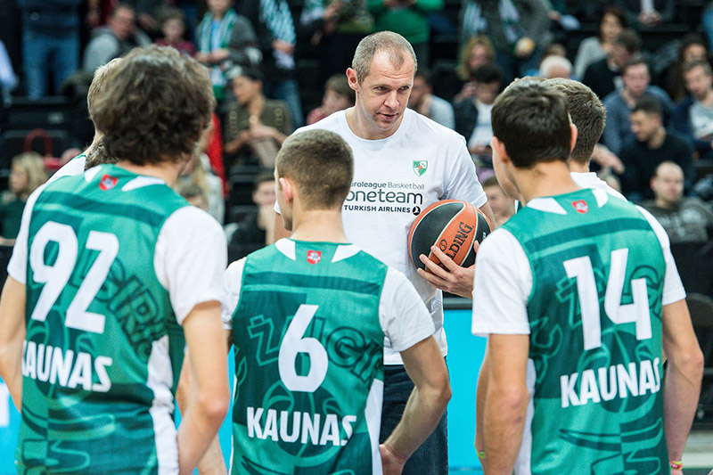 Zalgiris One Team session