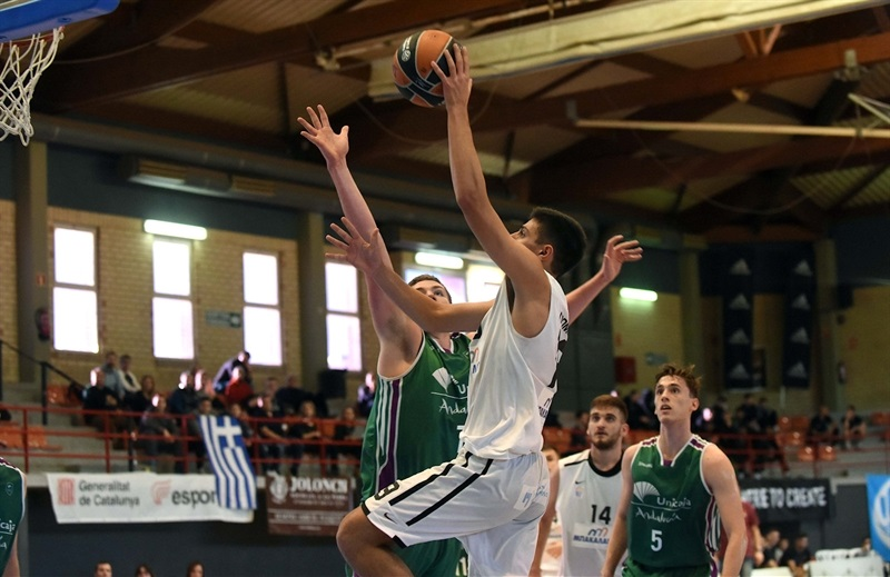 Player U18 Promitheas Patras - ANGT Hospitalet 2018 (photo Paco Largo) - JT17