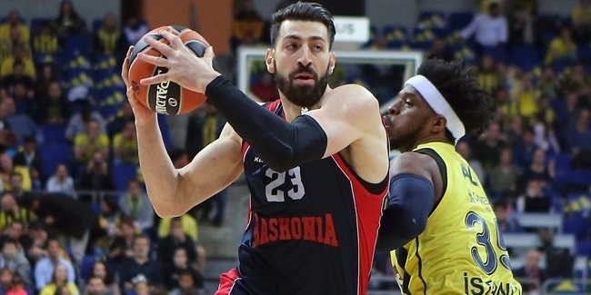 Shengelia takes pride as Baskonia's captain