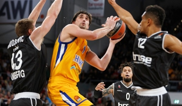 RS Round 16 report: Shved fires Khimki to road win in Bamberg