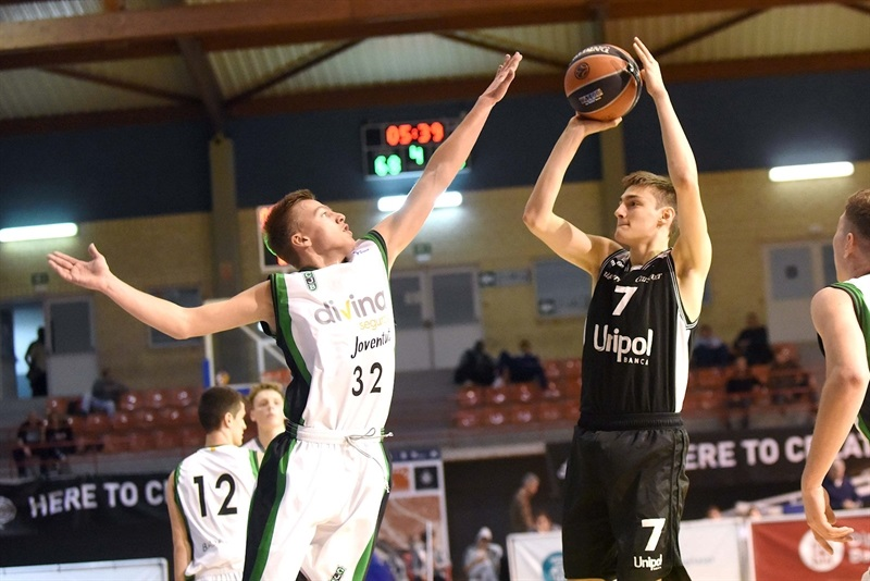 Matteo Nicoli- U18 Virtus Bologna - ANGT Hospitalet 2018 (photo David Paco Largo) - JT17