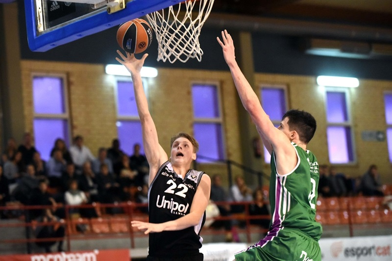Mikk Jurkatamm - U18 Virtus Bologna - ANGT Hospitalet 2018 (photo David Paco Largo) - JT17